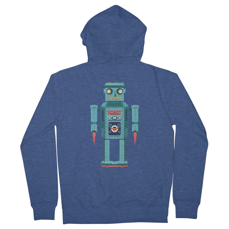 Mr. Robot Men's French Terry Zip-Up Hoody by Ian Glaubinger on Threadless!