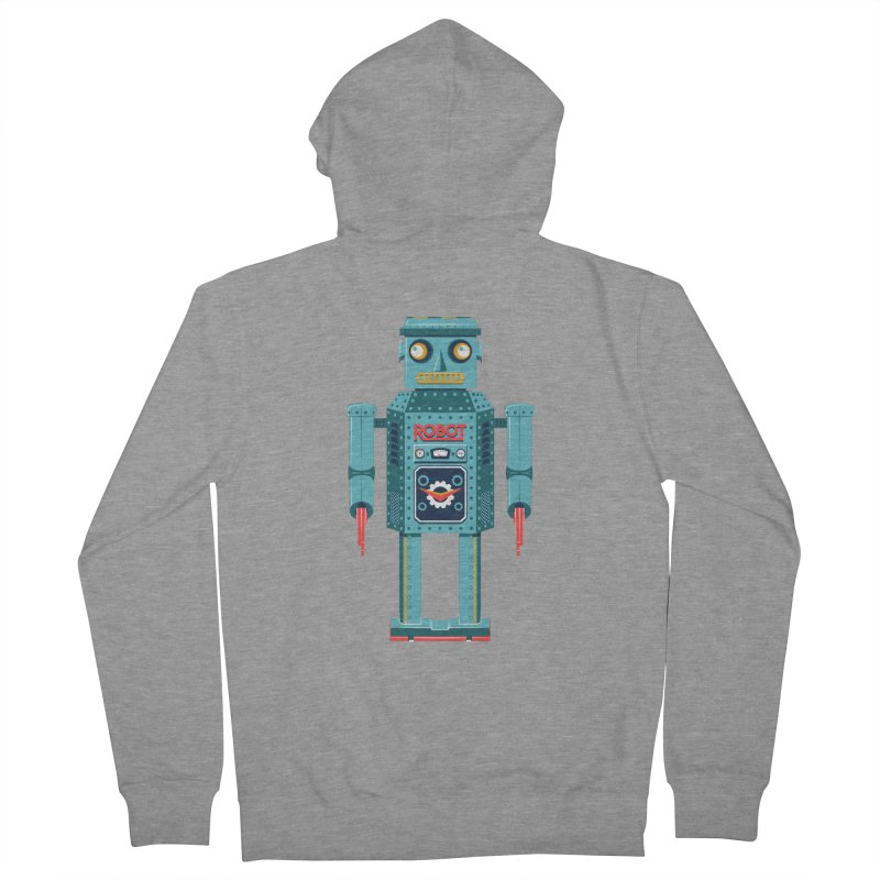 Mr. Robot Men's French Terry Zip-Up Hoody by Ian Glaubinger on Threadless!