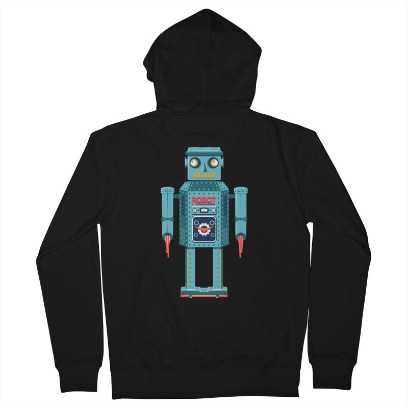 Mr. Robot Men's Zip-Up Hoody by Ian Glaubinger on Threadless!