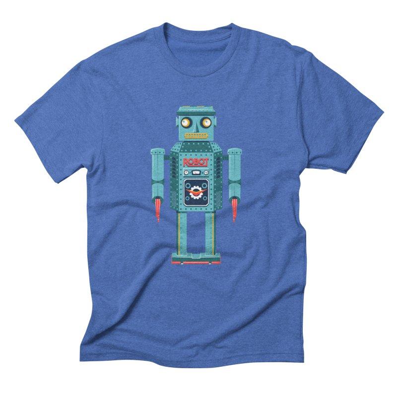 Mr. Robot Men's Triblend T-Shirt by Ian Glaubinger on Threadless!