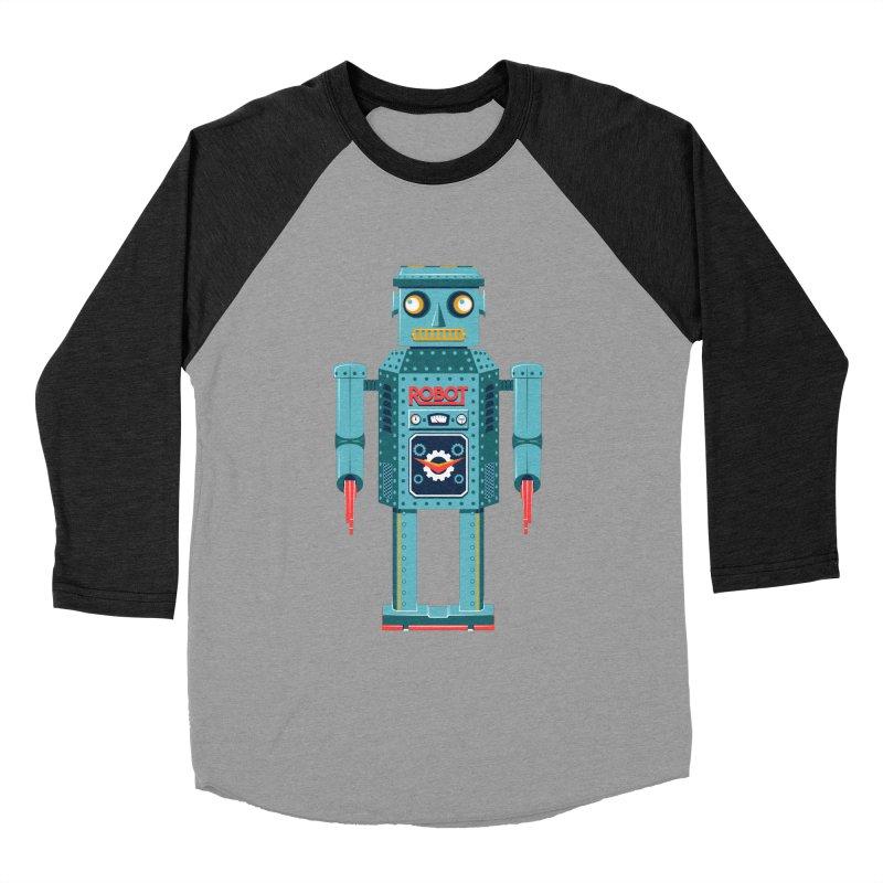 Mr. Robot Women's Baseball Triblend Longsleeve T-Shirt by Ian Glaubinger on Threadless!