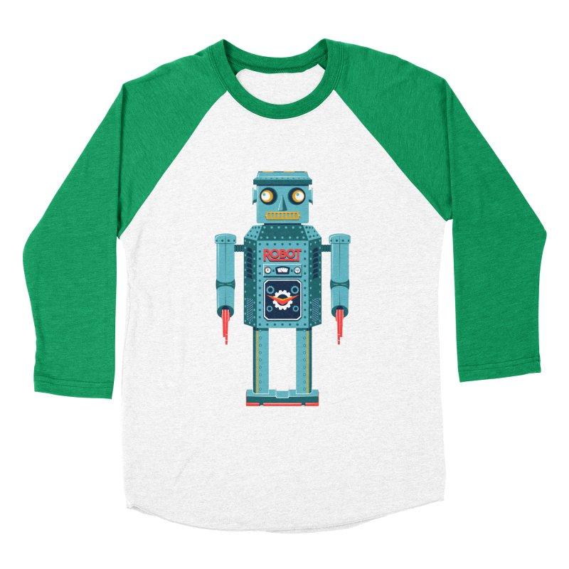 Mr. Robot Men's Baseball Triblend Longsleeve T-Shirt by Ian Glaubinger on Threadless!