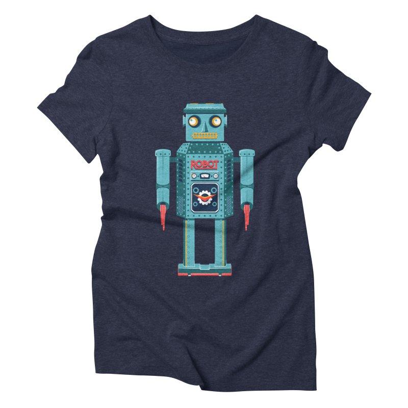 Mr. Robot Women's Triblend T-Shirt by Ian Glaubinger on Threadless!