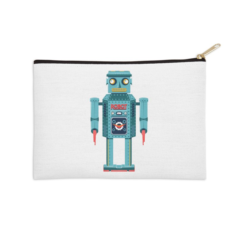 Mr. Robot Accessories Zip Pouch by Ian Glaubinger on Threadless!