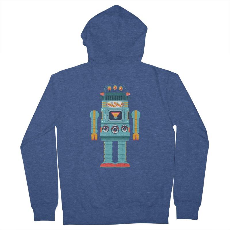 Space Robot Women's Zip-Up Hoody by Ian Glaubinger on Threadless!