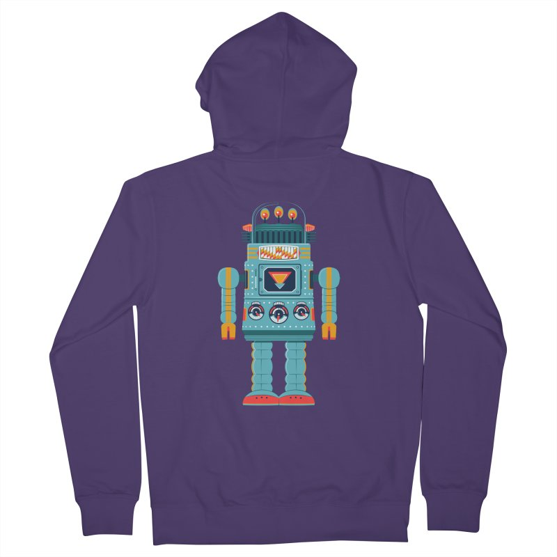 Space Robot Women's French Terry Zip-Up Hoody by Ian Glaubinger on Threadless!