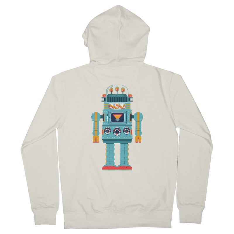 Space Robot Men's Zip-Up Hoody by Ian Glaubinger on Threadless!