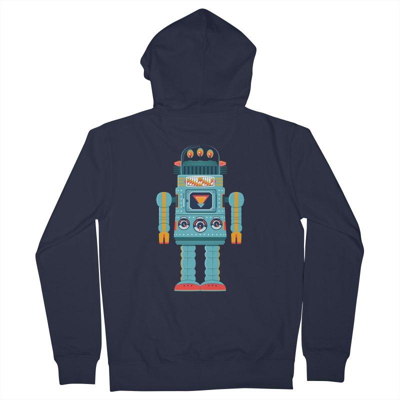Space Robot Men's Zip-Up Hoody by Ian Glaubinger on Threadless!