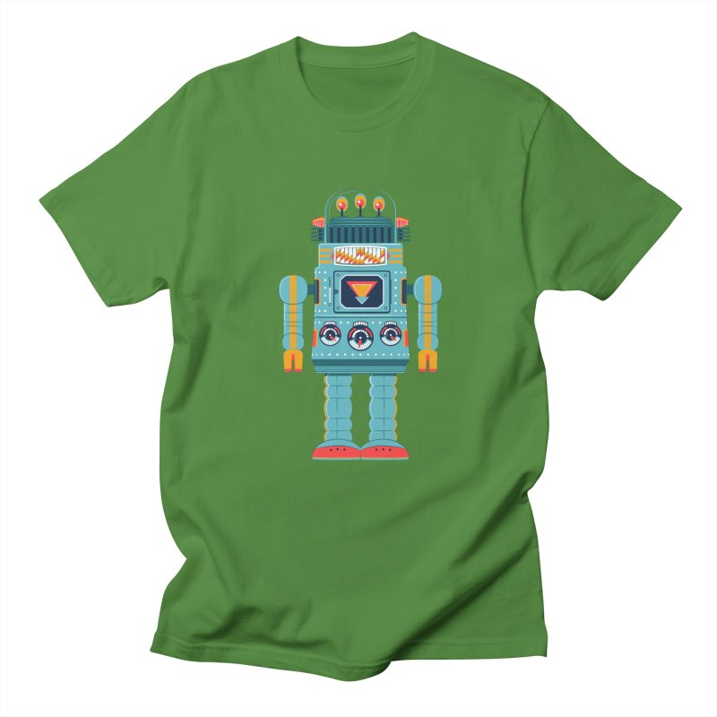 Space Robot Men's Regular T-Shirt by Ian Glaubinger on Threadless!
