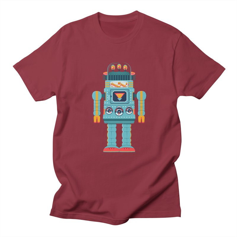 Space Robot Men's Regular T-Shirt by Ian Glaubinger on Threadless!