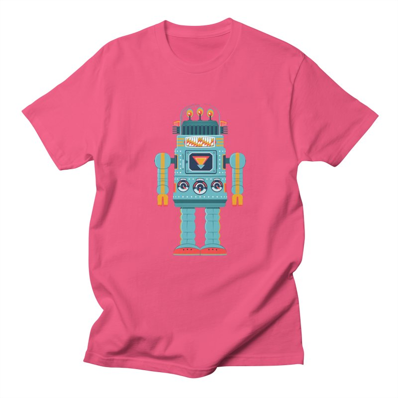 Space Robot Men's T-shirt by Ian Glaubinger on Threadless!