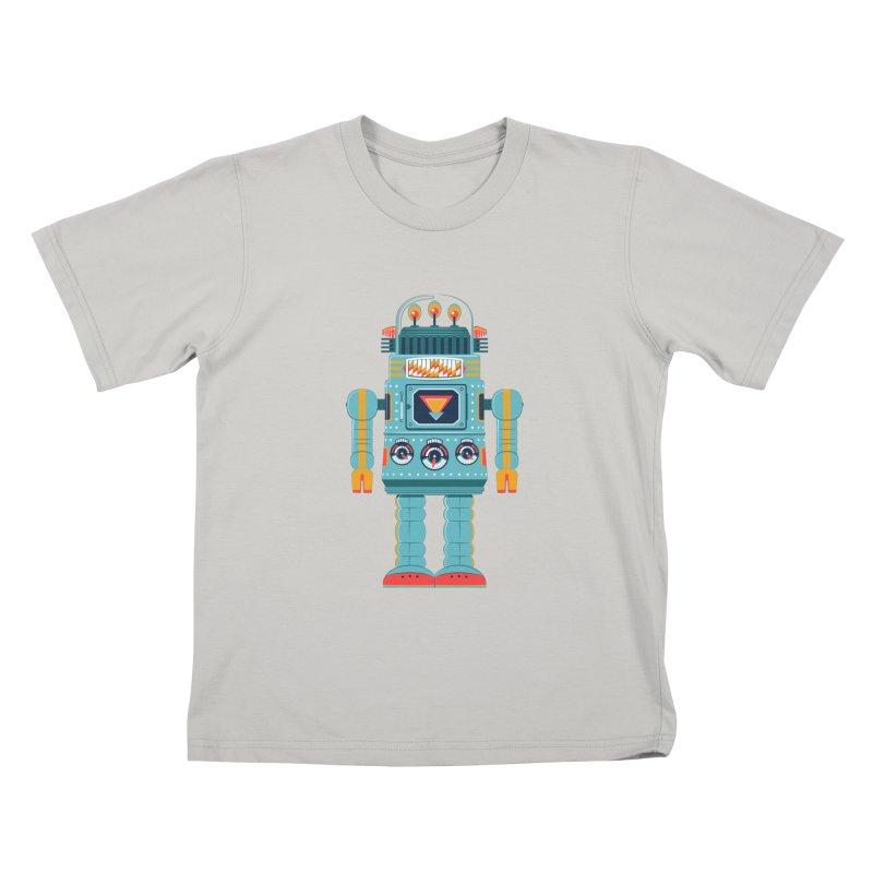 Space Robot Kids T-shirt by Ian Glaubinger on Threadless!