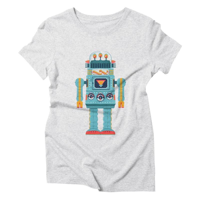 Space Robot Women's T-Shirt by Ian Glaubinger on Threadless!