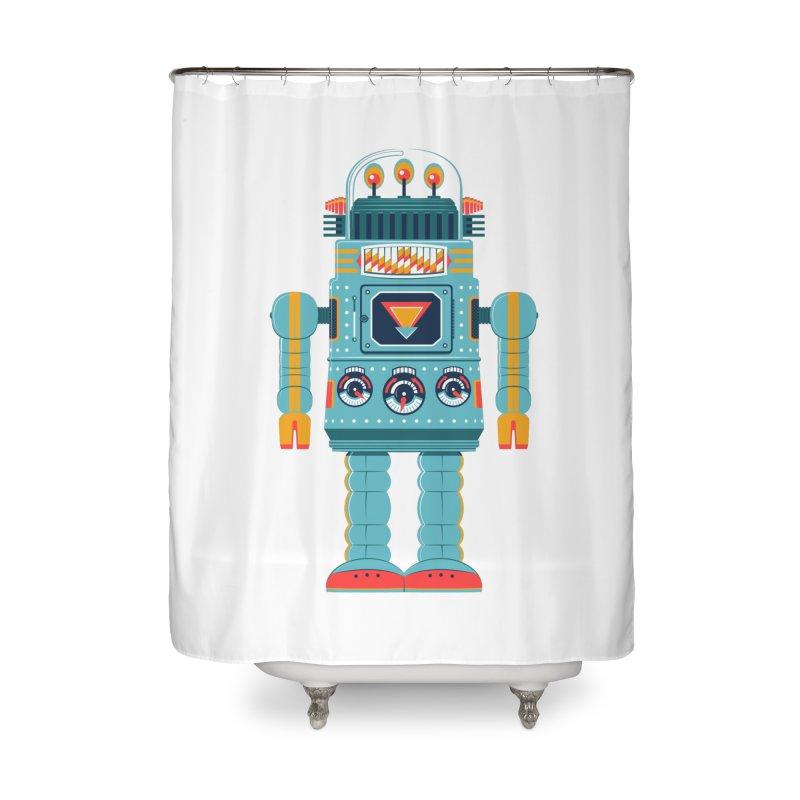 Space Robot   by Ian Glaubinger on Threadless!