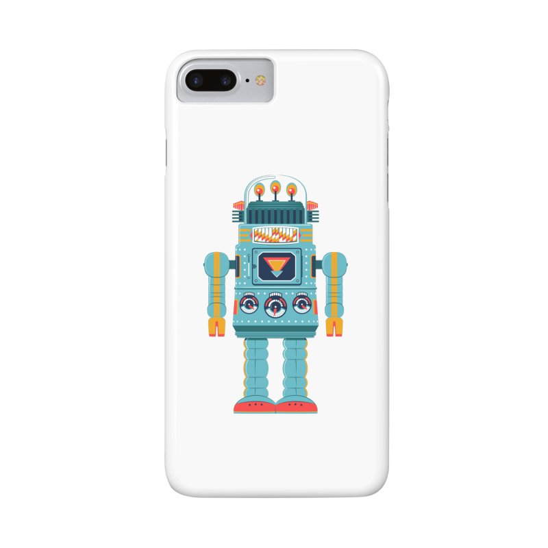 Space Robot Accessories Phone Case by Ian Glaubinger on Threadless!