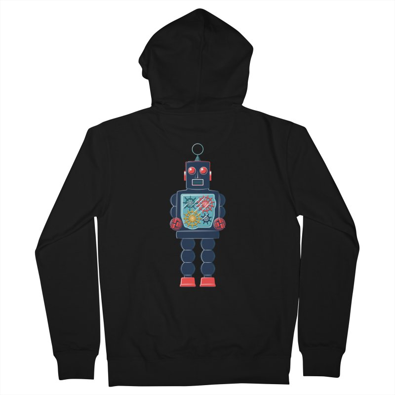 GearBot Women's French Terry Zip-Up Hoody by Ian Glaubinger on Threadless!
