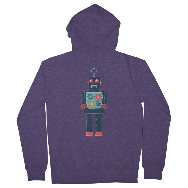 GearBot Men's Zip-Up Hoody by Ian Glaubinger on Threadless!