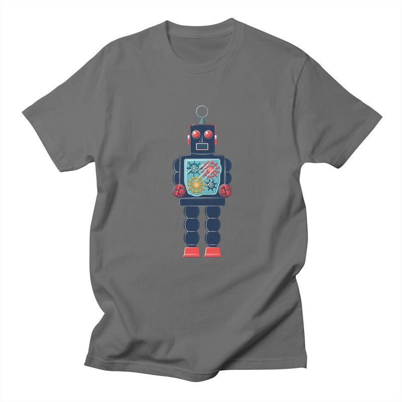 GearBot Men's Regular T-Shirt by Ian Glaubinger on Threadless!
