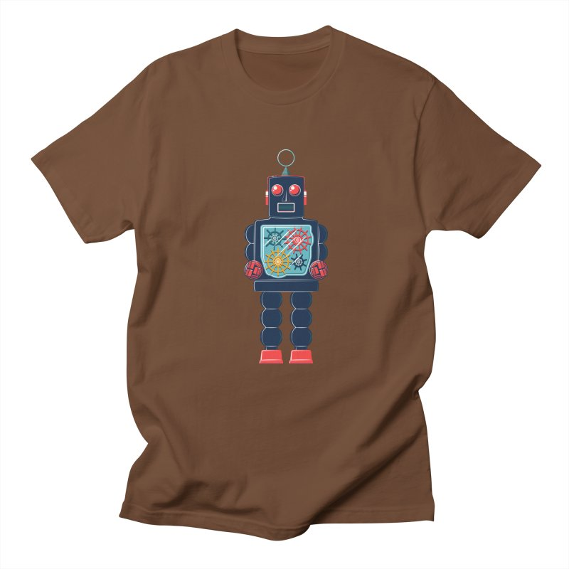 GearBot Men's T-shirt by Ian Glaubinger on Threadless!