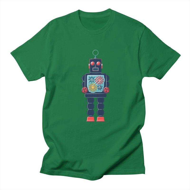 GearBot Men's T-shirt by Ian Glaubinger on Threadless!