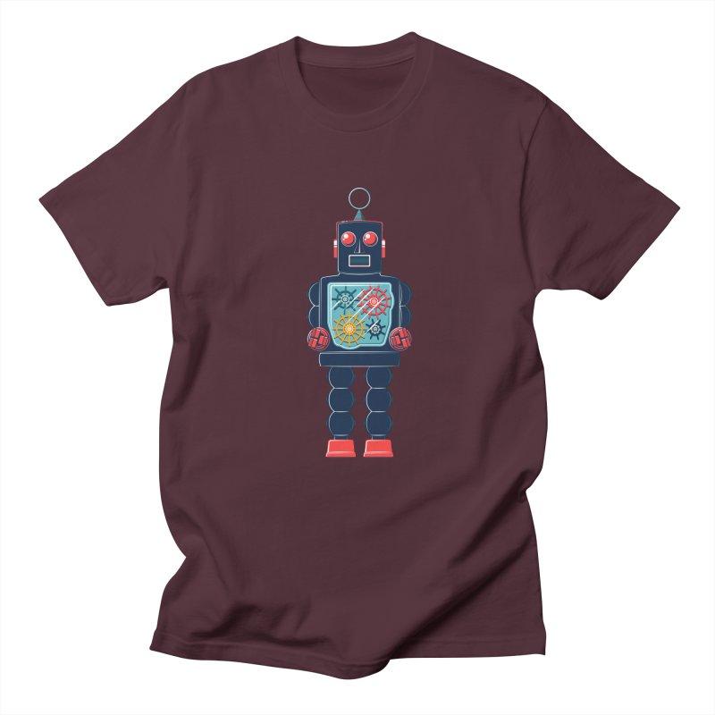 GearBot Men's Regular T-Shirt by Ian Glaubinger on Threadless!
