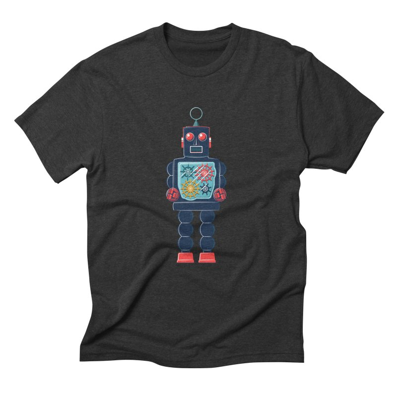 GearBot Men's Triblend T-Shirt by Ian Glaubinger on Threadless!