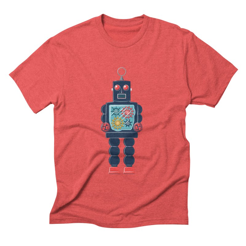 GearBot Men's Triblend T-shirt by Ian Glaubinger on Threadless!