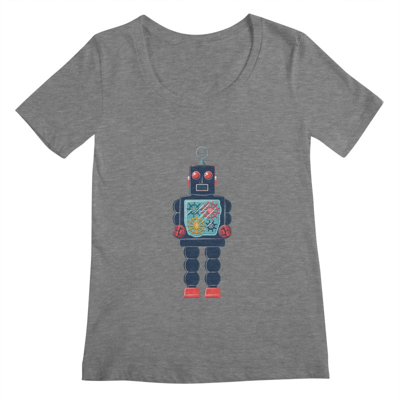 GearBot Women's Scoopneck by Ian Glaubinger on Threadless!