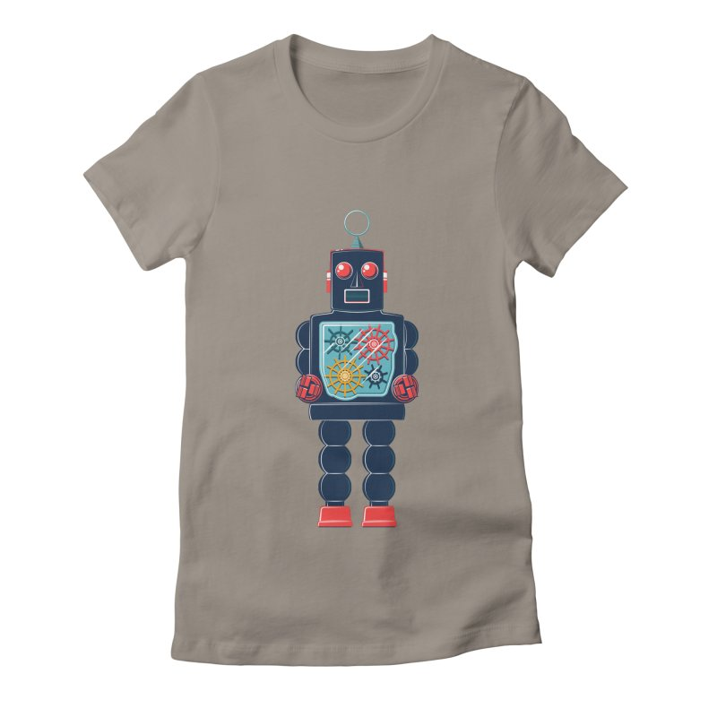GearBot Women's Fitted T-Shirt by Ian Glaubinger on Threadless!