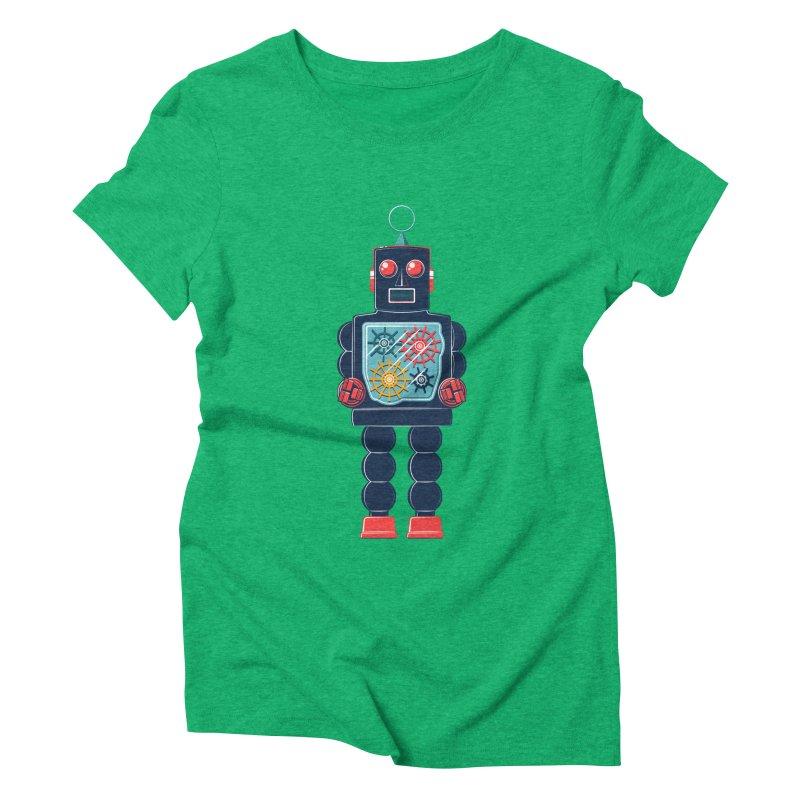 GearBot Women's Triblend T-Shirt by Ian Glaubinger on Threadless!