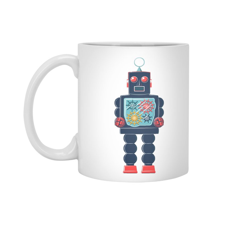 GearBot Accessories Mug by Ian Glaubinger on Threadless!