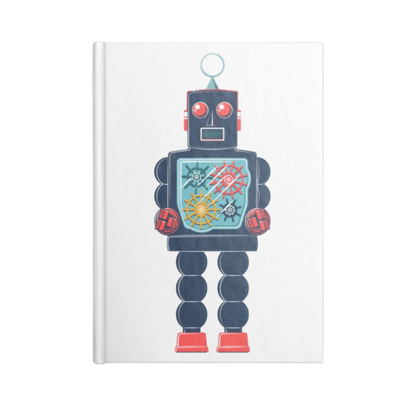 GearBot Accessories Blank Journal Notebook by Ian Glaubinger on Threadless!