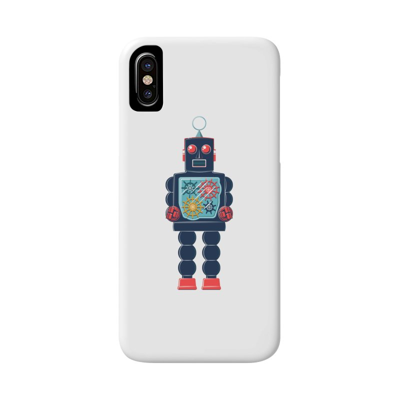GearBot Accessories Phone Case by Ian Glaubinger on Threadless!