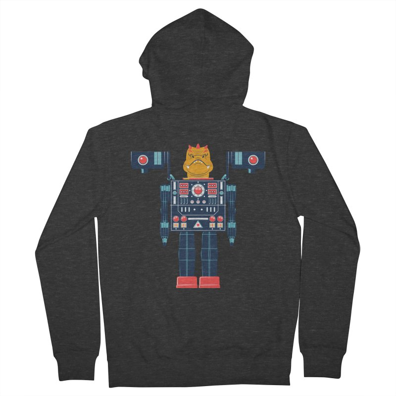 LizardBot Women's French Terry Zip-Up Hoody by Ian Glaubinger on Threadless!