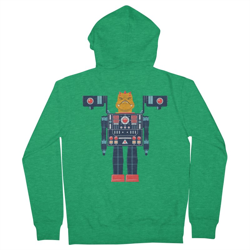 LizardBot Men's Zip-Up Hoody by Ian Glaubinger on Threadless!