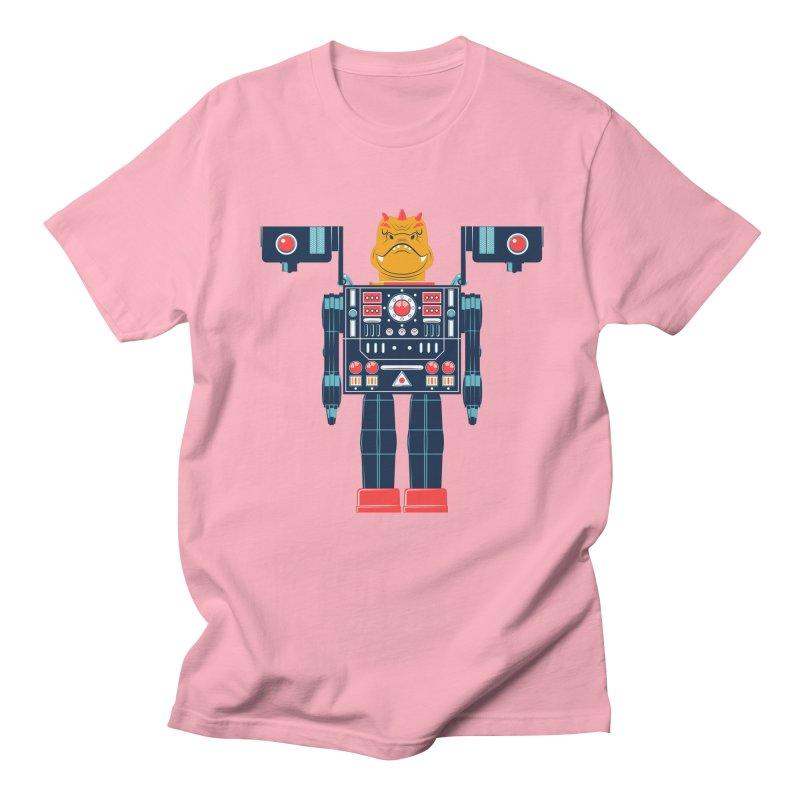 LizardBot Men's Regular T-Shirt by Ian Glaubinger on Threadless!