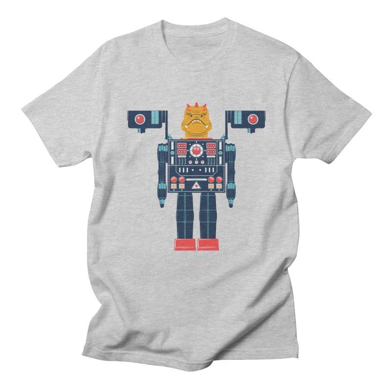 LizardBot Men's T-shirt by Ian Glaubinger on Threadless!