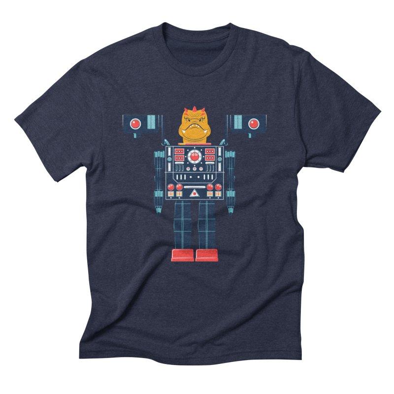 LizardBot Men's Triblend T-Shirt by Ian Glaubinger on Threadless!