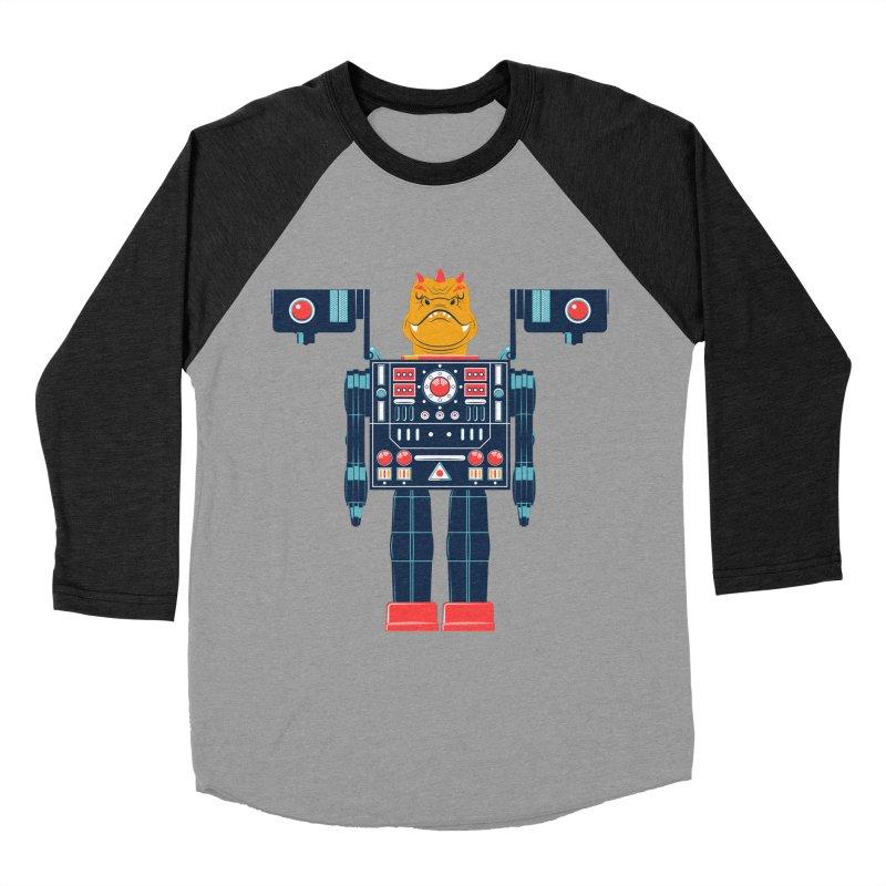 LizardBot Women's Baseball Triblend T-Shirt by Ian Glaubinger on Threadless!