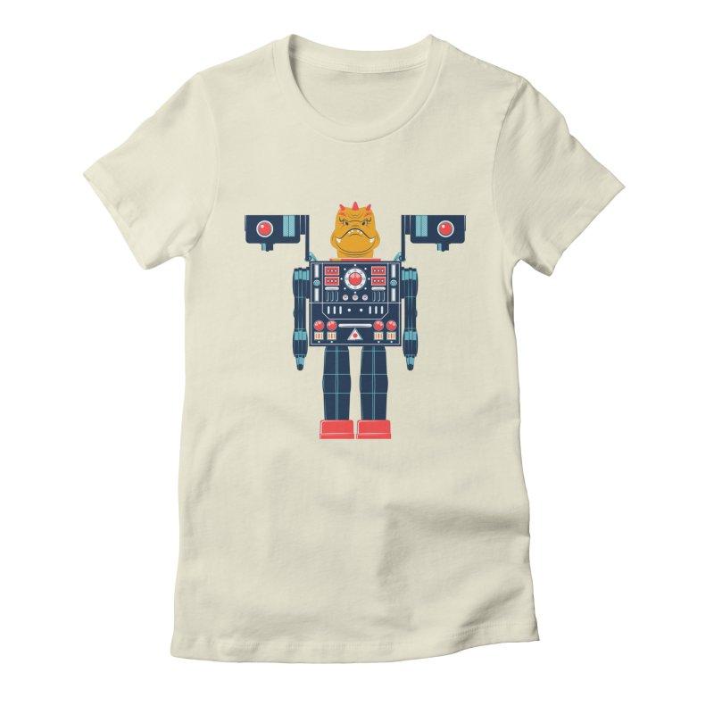 LizardBot Women's Fitted T-Shirt by Ian Glaubinger on Threadless!