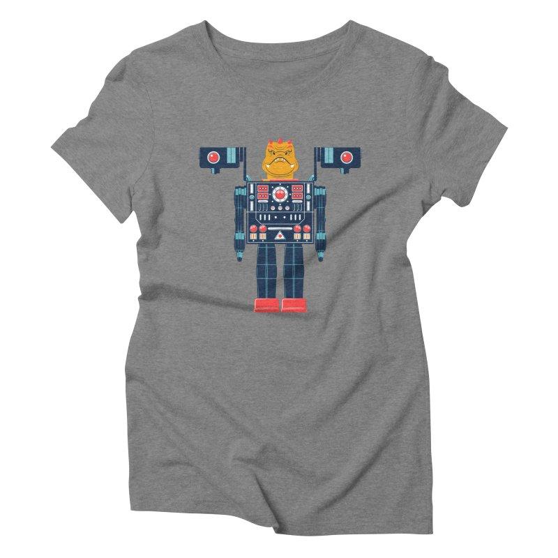LizardBot Women's Triblend T-Shirt by Ian Glaubinger on Threadless!