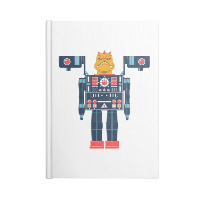 LizardBot Accessories Notebook by Ian Glaubinger on Threadless!