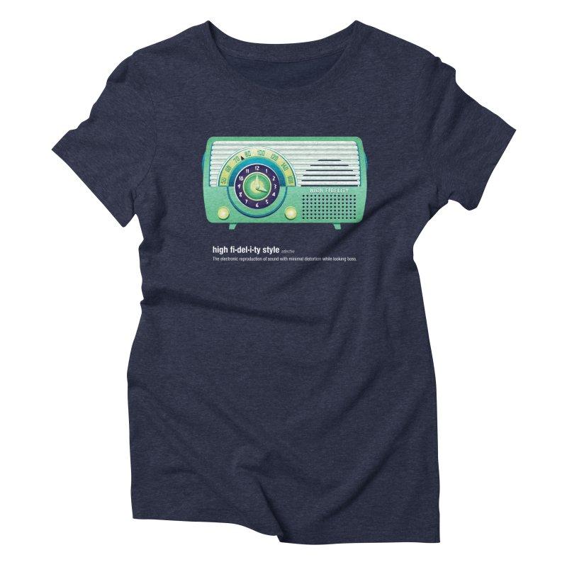 high fi·del·i·ty '52 Women's T-Shirt by Ian Glaubinger on Threadless!