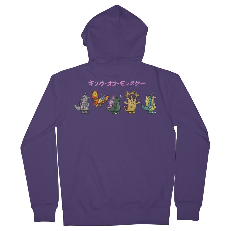 King of Monsters Women's French Terry Zip-Up Hoody by Ian Glaubinger on Threadless!