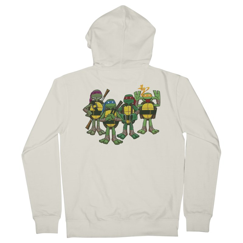 Half Shells Women's French Terry Zip-Up Hoody by Ian Glaubinger on Threadless!
