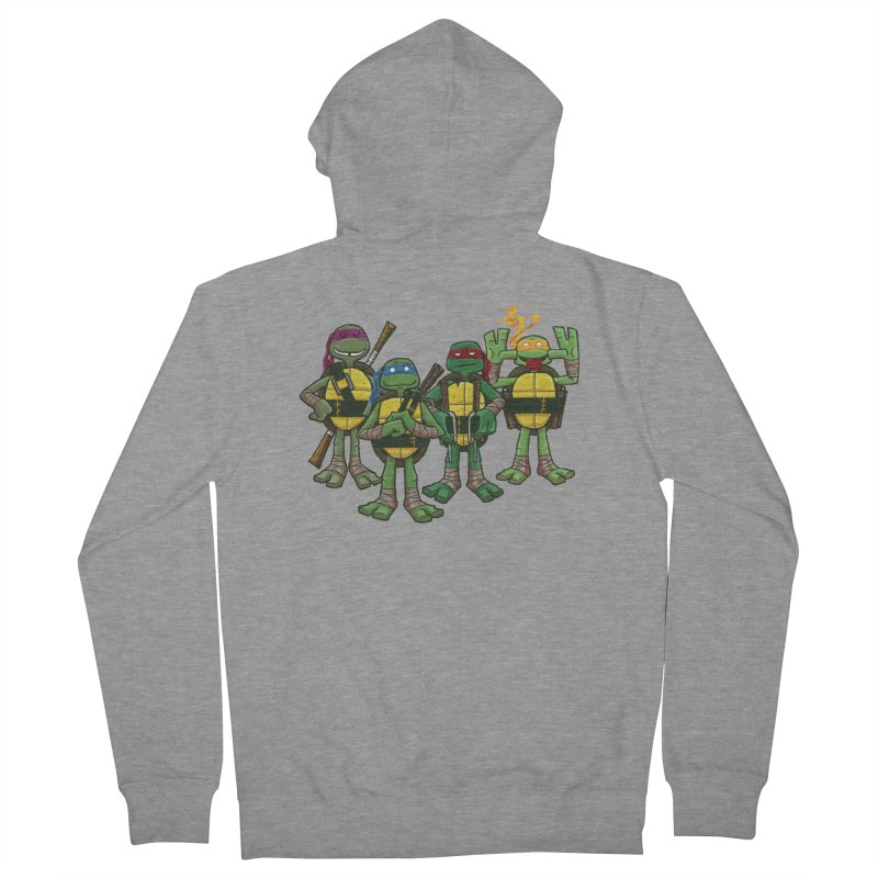 Half Shells Men's Zip-Up Hoody by Ian Glaubinger on Threadless!