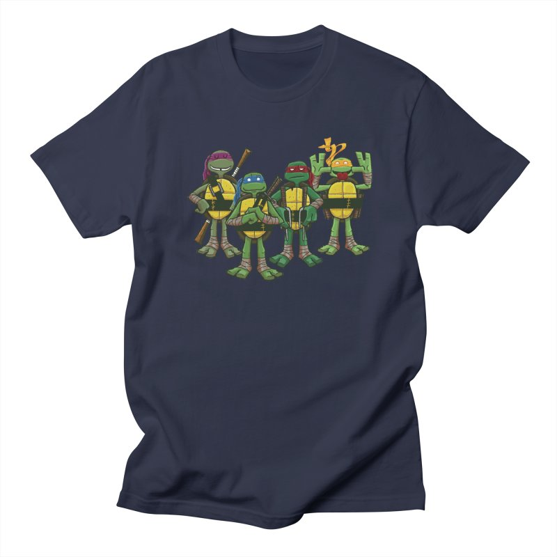 Half Shells Men's Regular T-Shirt by Ian Glaubinger on Threadless!