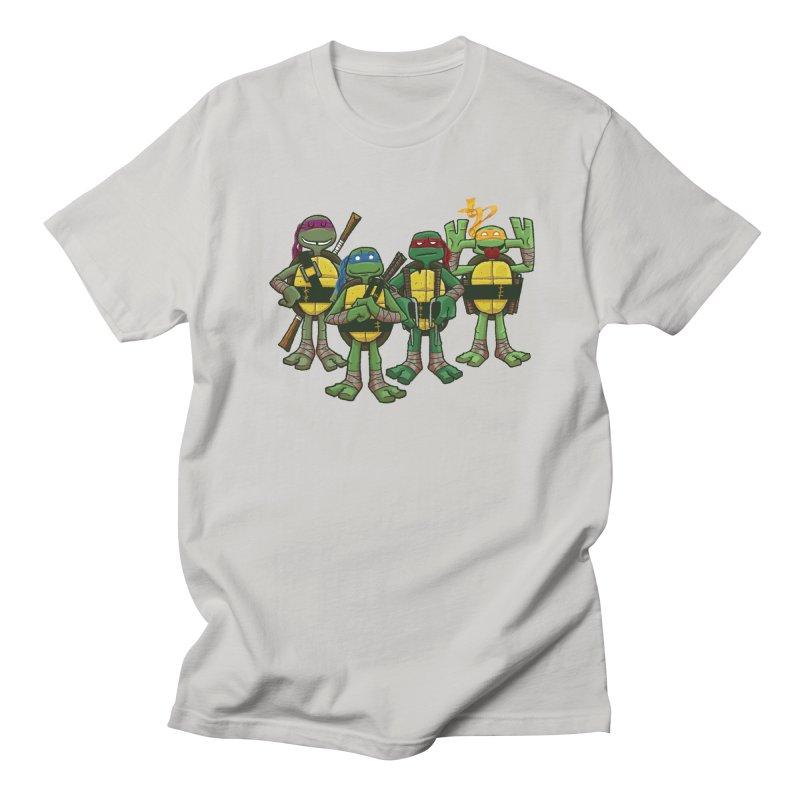 Half Shells Men's T-Shirt by Ian Glaubinger on Threadless!