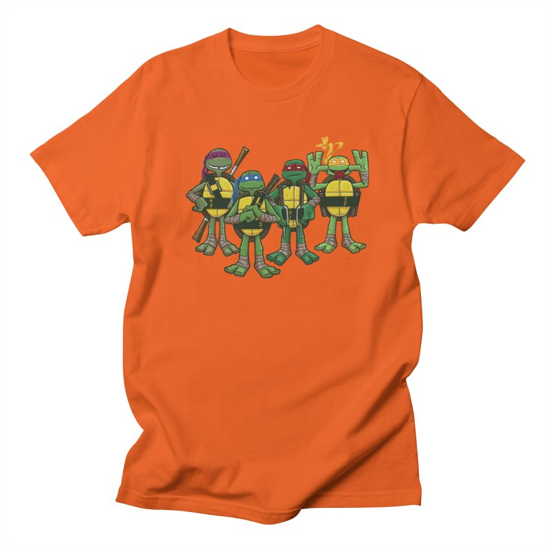 Half Shells Men's Regular T-Shirt by Ian Glaubinger on Threadless!