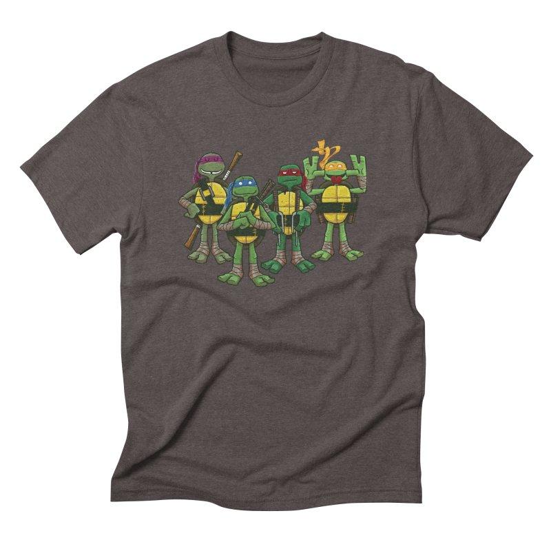 Half Shells Men's Triblend T-Shirt by Ian Glaubinger on Threadless!